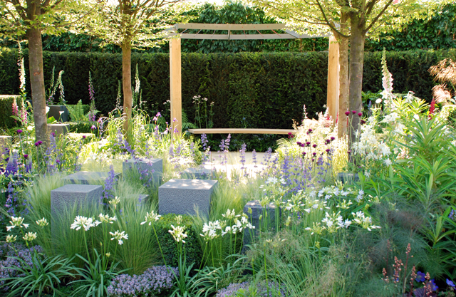 Rhs chelsea 2014 help for heroes garden hope on the for Help me design a garden