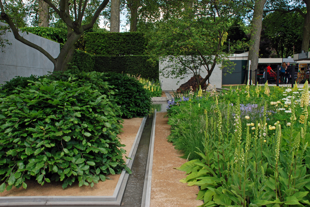RHS Chelsea Flower Show 2014 Laurent Perrier Garden Lisa Cox Designs