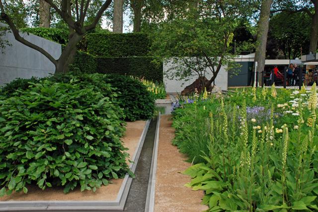 RHS Chelsea Flower Show 2014 Laurent Perrier Garden Lisa Cox Designs