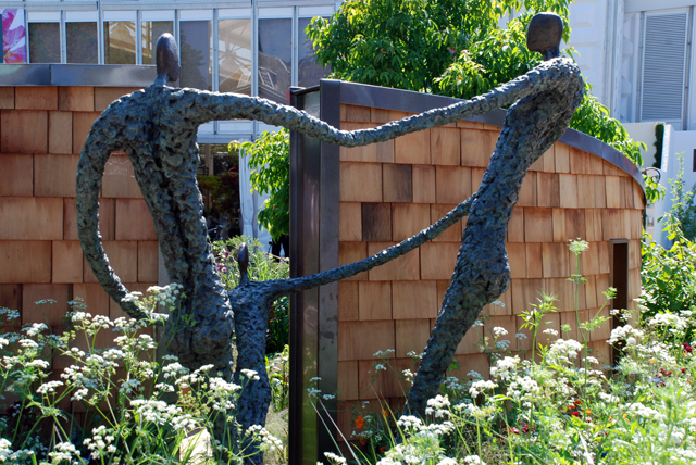 Sculpture in the WellChild Garden RHS Chelsea 2014 Lisa Cox