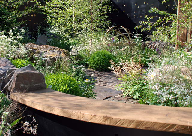 The Night Sky Garden Harry & David Rich RHS Chelsea 2014 Lisa Cox