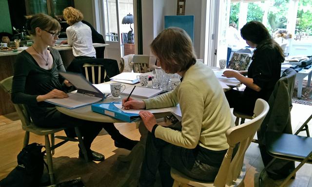 Week 2 create your garden workshop Decor Cafe Lisa Cox
