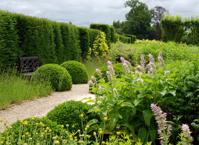 Loseley Park Herb Garden Lisa Cox Garden designs