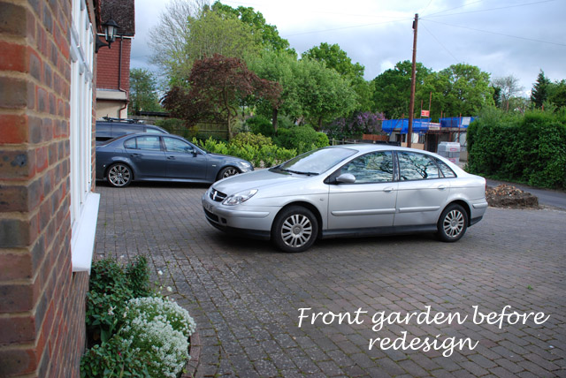 Front garden in Ashtead before redesign Lisa Cox copy