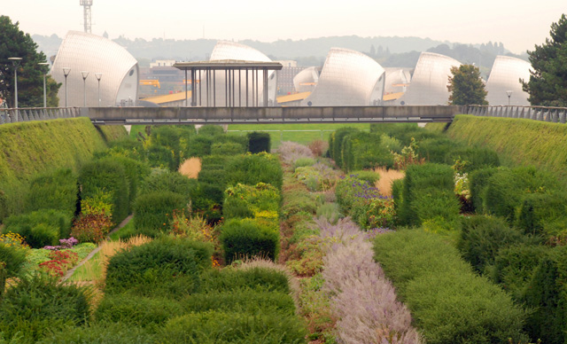 Thames Barrier Park Lisa Cox Garden Designs