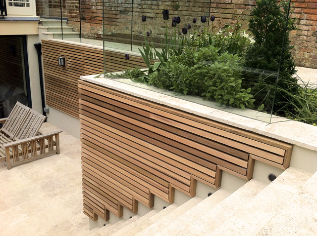 Bespoke garden trellis by Jonathan Blackburn