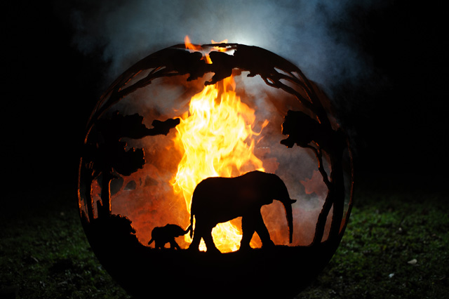 The Africa Ball The Firepit Company