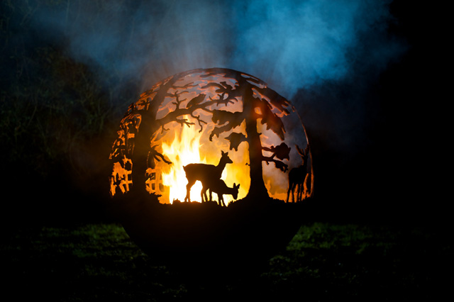 The Fire Pit Company English Country Ball