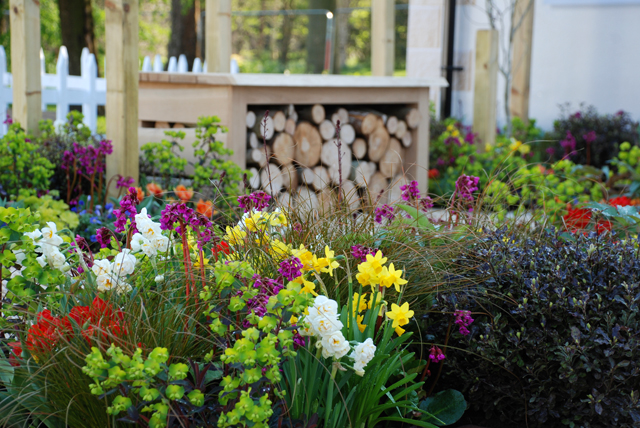 RHS Flower Show Cardiff 2015 Lisa Cox A Front Garden for Victoria Park Mazda