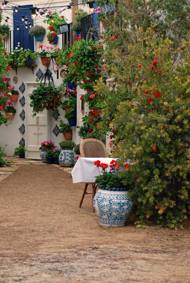 An Adalusian moment show garden RHS Malvern 2015 Lisa Cox