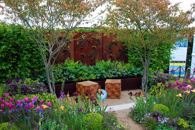 Festival garden Whatley Manor RHS Malvern 2015 Lisa Cox Designs