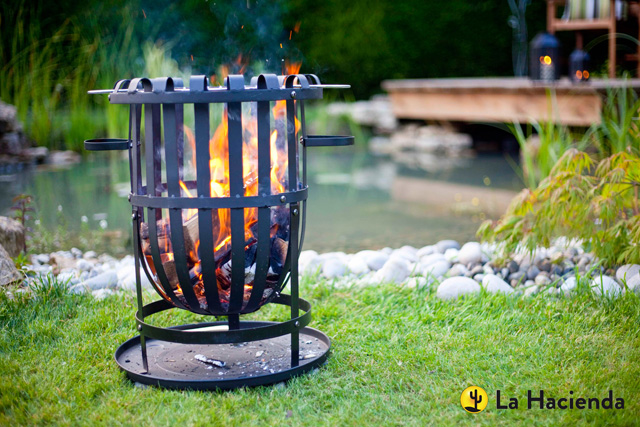 Fire pit by La Hacienda