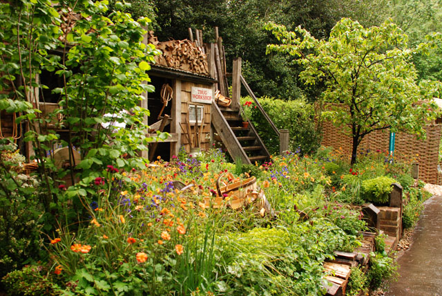 Future Climate Info - A trugmaker's garden RHS Chelsea 2015 Lisa Cox