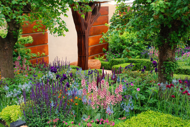 Morgan Stanley Garden at Chelsea 2015 RHS Lisa Cox