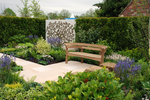 Out of Darkness garden at RHS Malvern 2015 Lisa Cox