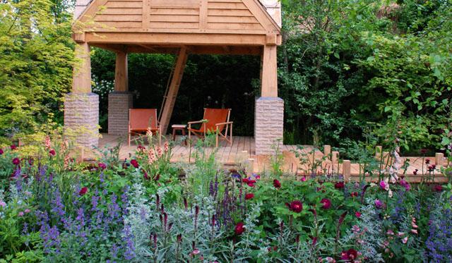 RHS Chelsea Flower Show 2015 M&G Garden Lisa Cox