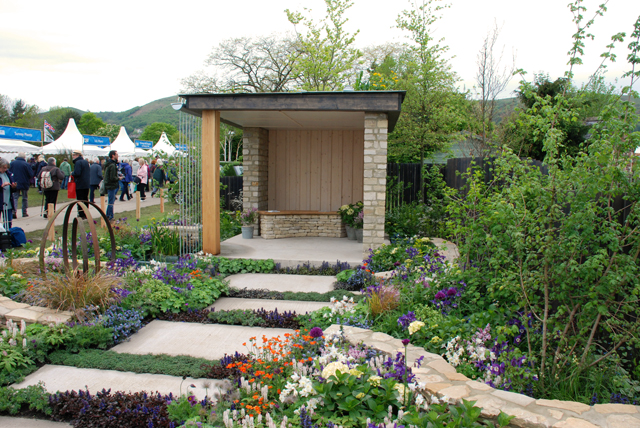 The Cotswold Way show garden Malvern 2015 Lisa cox designs
