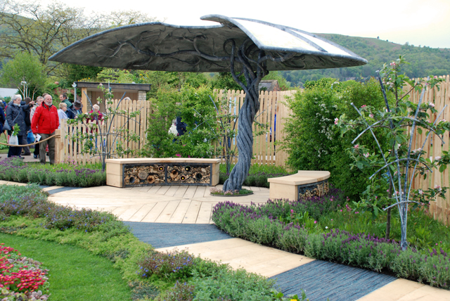 The Journey Garden supported by St Michael Hospice Lisa Cox Designs