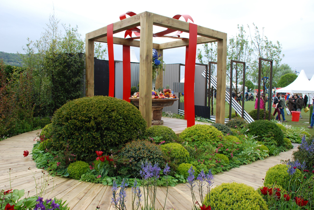 The Organ Donation Garden at RHS Malvern 2015 Lisa Cox