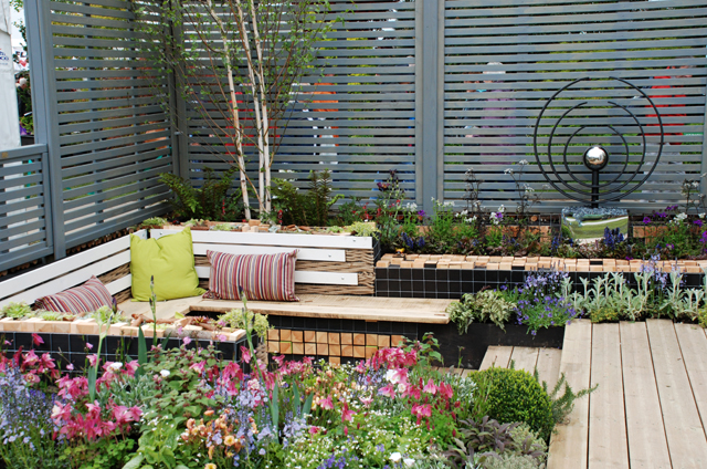 The Perfect Commute garden at RHS Malvern 2015 Lisa Cox