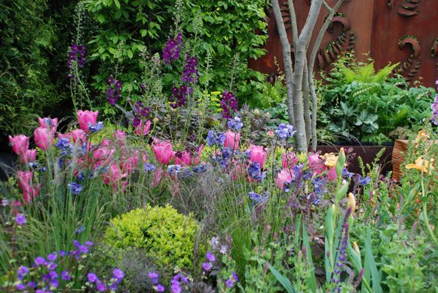 Whatley Manor garden RHS spring show Malvern planting 2015 Lisa Cox