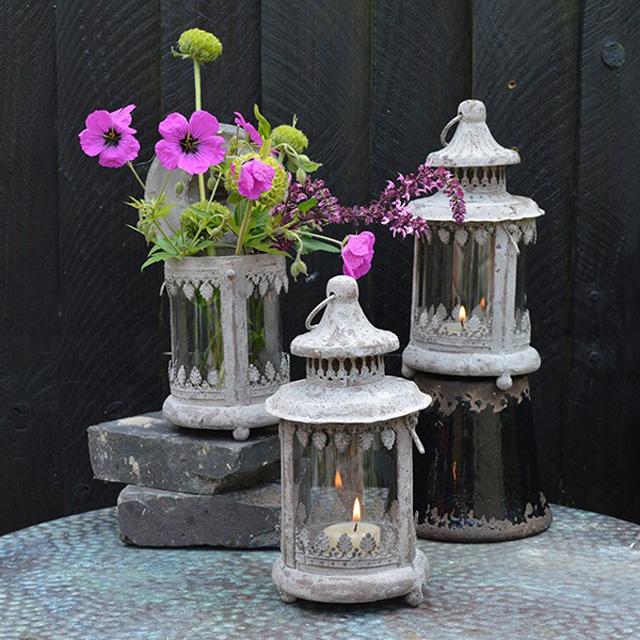 Aged Garden Lantern Mia Fleur