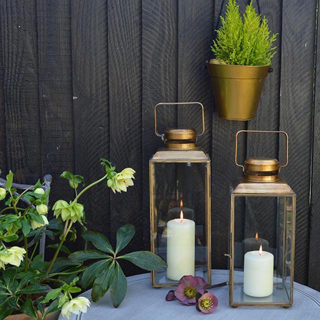 Brass lanterns Mia Fleur