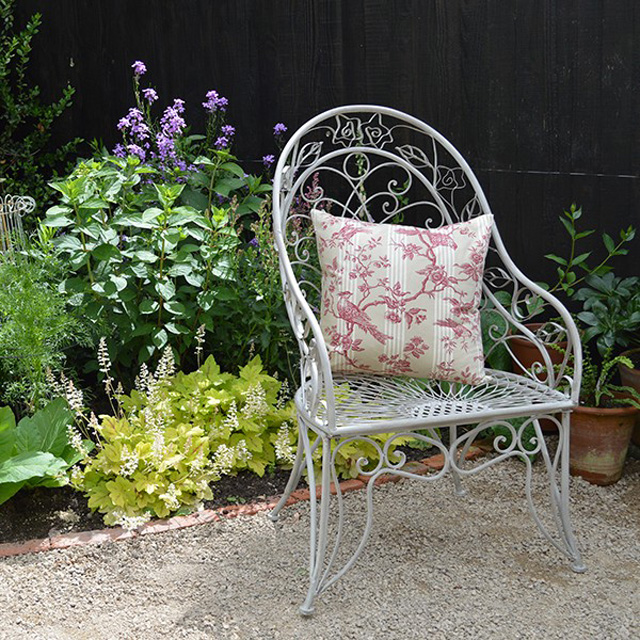 Decorative garden chair Mia Fleur