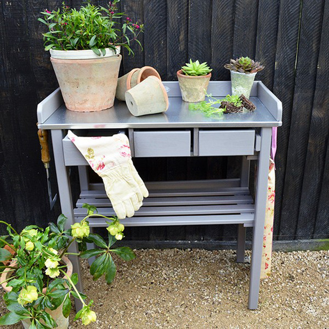 Potting Bench by Mia Fleur