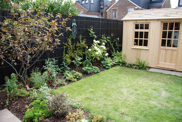 Reigate back garden almost finished