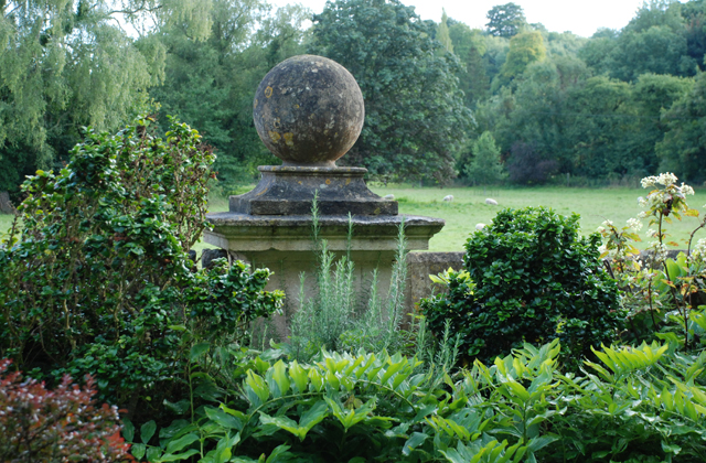 View from the Peto garden at Iford Manor Lisa Cox Designs