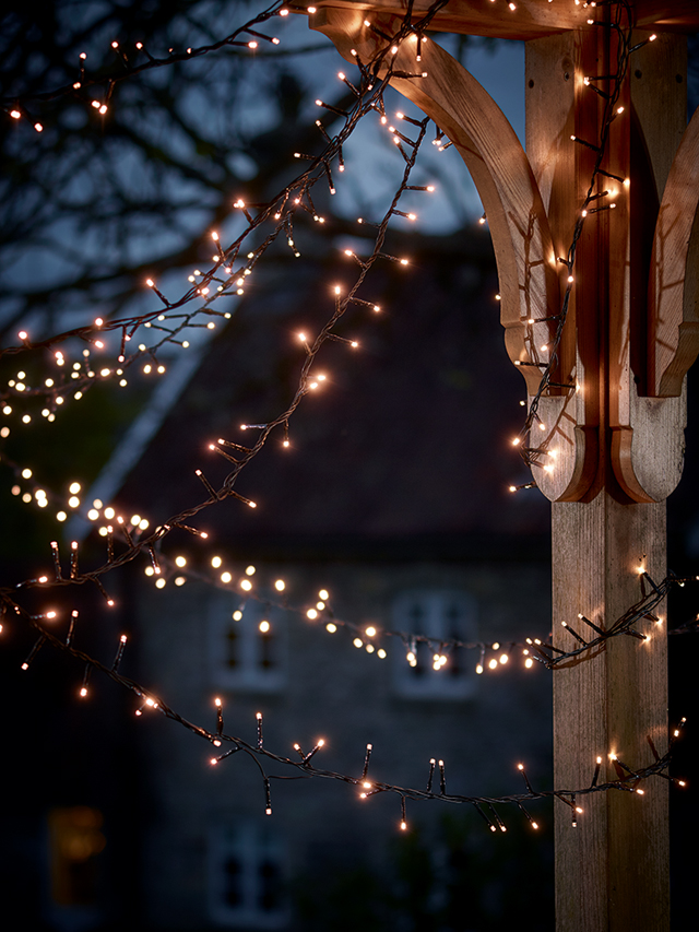 Outdoor twinkle lights by Cox & Cox