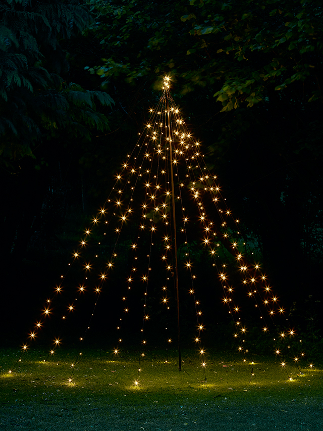 outdoor light up tree tower by Cox & Cox