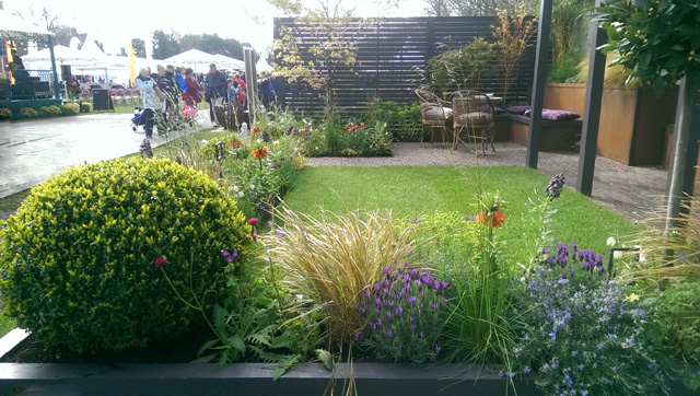 Alfresco garden at RHS Cardiff 2016