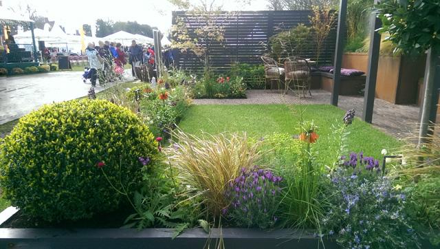 Alfresco garden at RHS Cardiff 2016