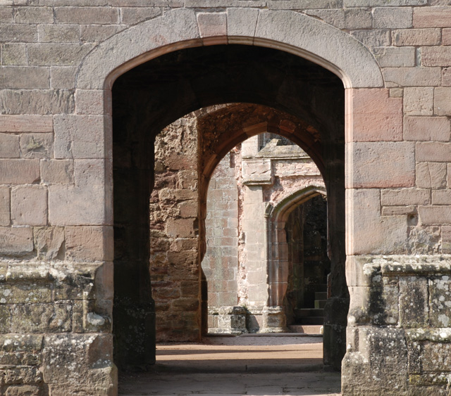 Archways at Raglan Castle Lisa Cox Designs