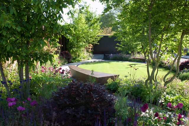 Chelsea Barracks Garden RHS Chelsea 2016 Lisa Cox
