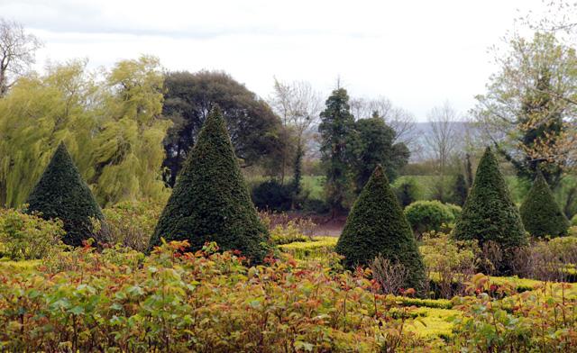 Garden at Highnam Court Gloucestershre Lisa Cox Desins