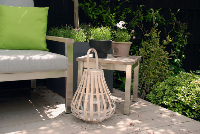 Lounge seating Chiswick Garden Lisa Cox Designs