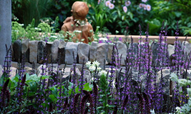 Meningitis Now Gdn RHS Chelsea 2016 Lisa Cox