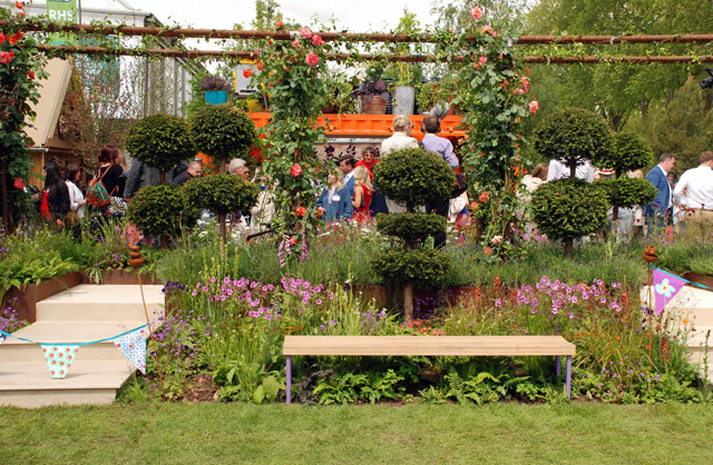 RHS Show Feature Chelsea 2016 Lisa Cox