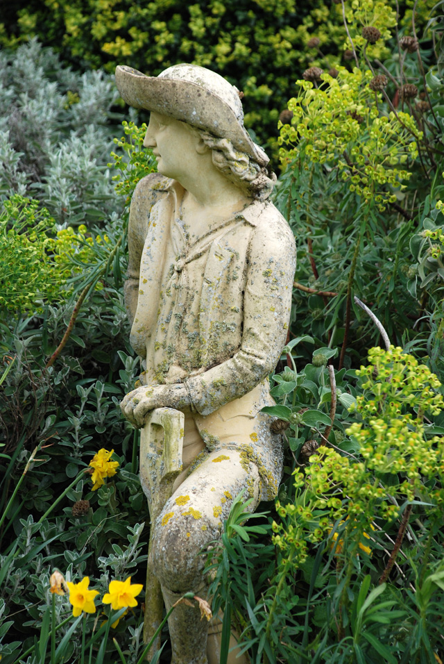 Statue at Highnam Court Garden Lisa Cox Designs