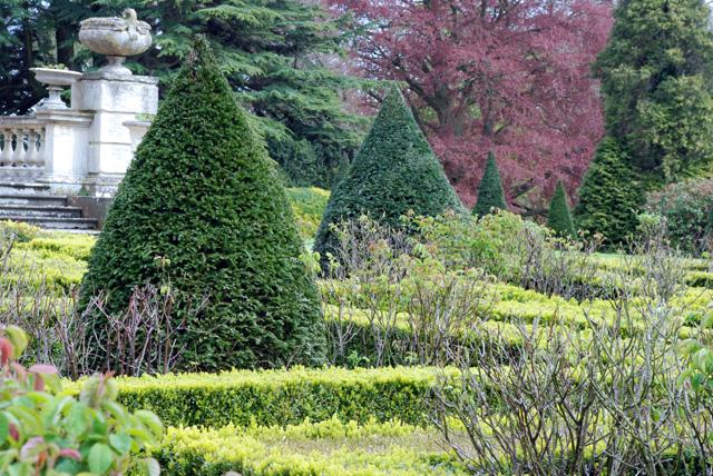 Topiary at Highnam Court Lisa Cox Designs