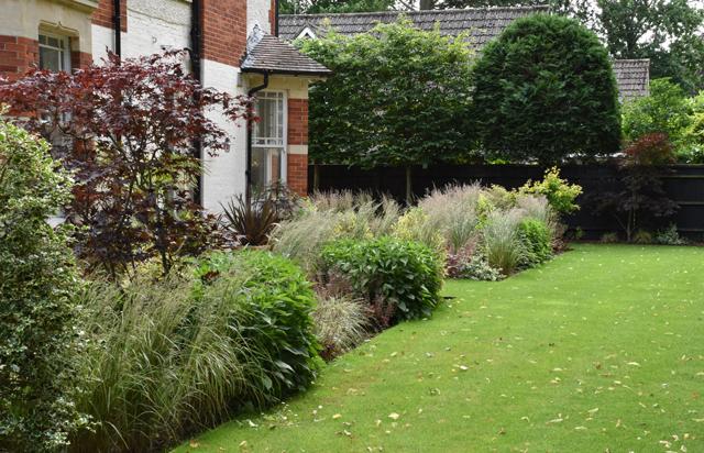 Calamagrostis & helenium Lisa Cox Garden Designs