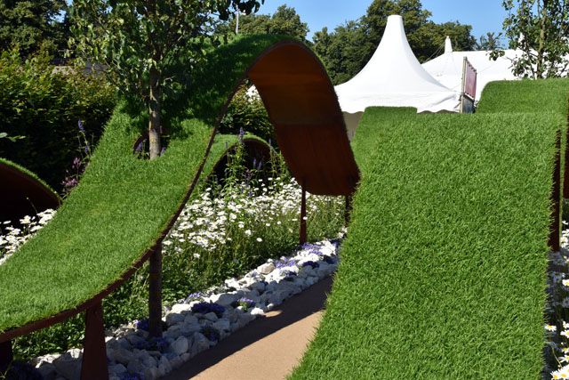The World Vision Garden RHS Hampton 2016 Lisa Cox