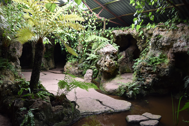 One of the underground grottos at Dewstow Lisa Cox Designs