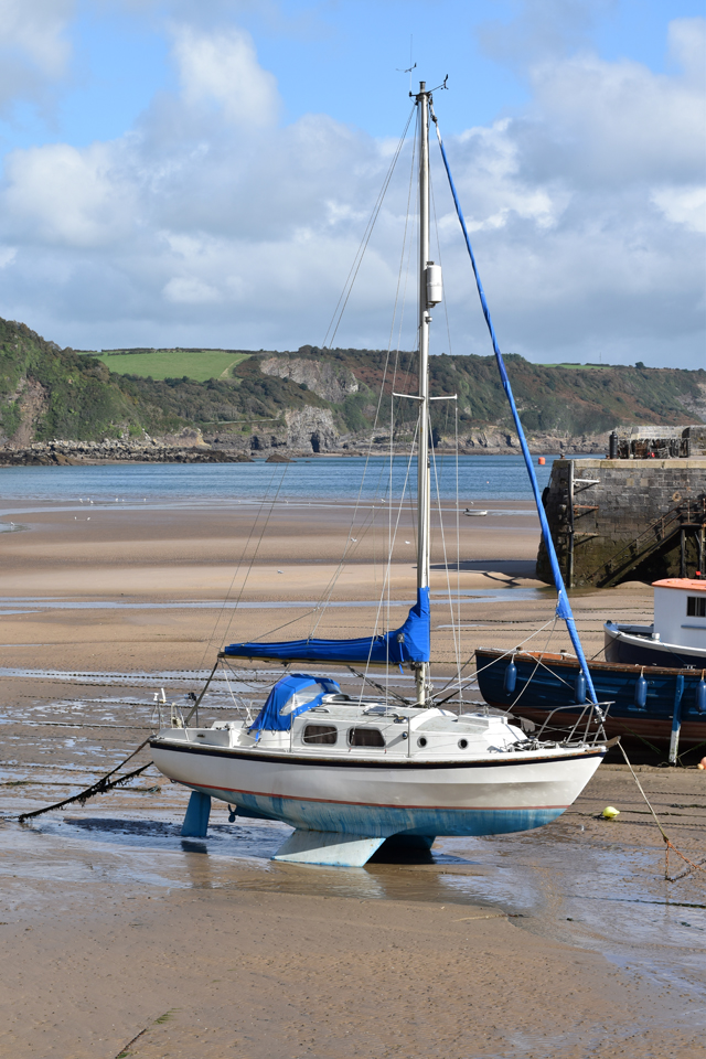 boat-at-tenby-harbour-lisa-cox-garden-designs