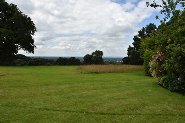 View from Cheshire garden before redesign Lisa Cox